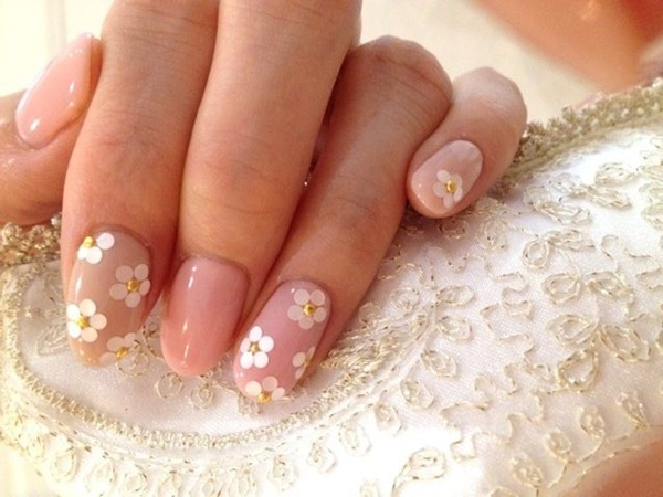 Easy Flower Nail Art Designs for Beginners2