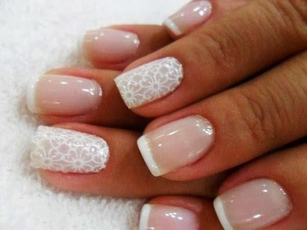 Easy Flower Nail Art Designs for Beginners21