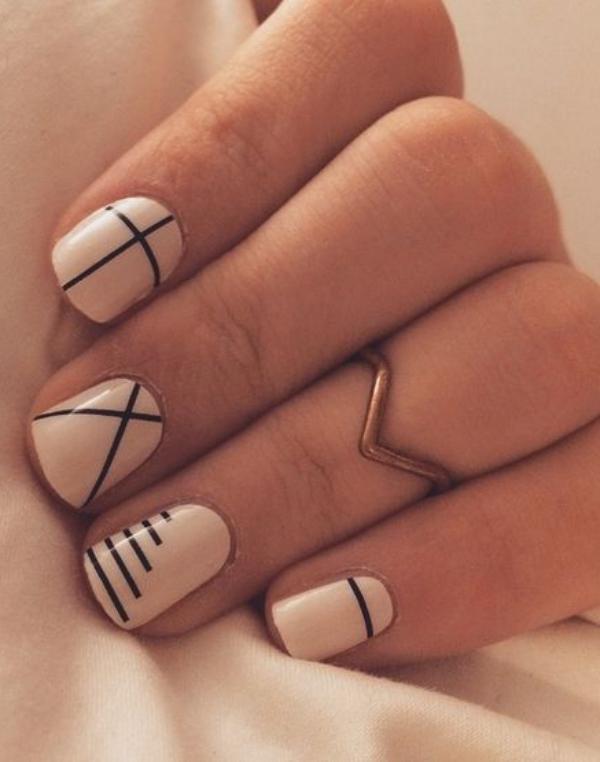 Cute Pink Nail Art Designs for Beginners