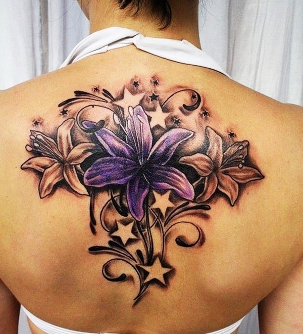 Lily Back Flower Tattoo: 1000+ Images About Tattoos On Pinterest