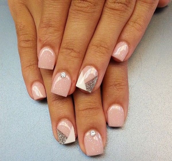 Pink Nail Art Designs for Beginners12