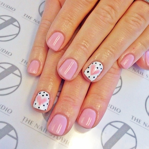 Pink Nail Art Designs for Beginners2