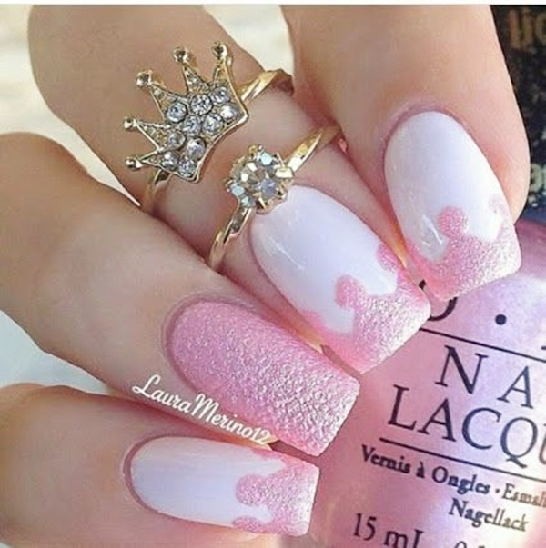 Pink Nail Art Designs for Beginners5