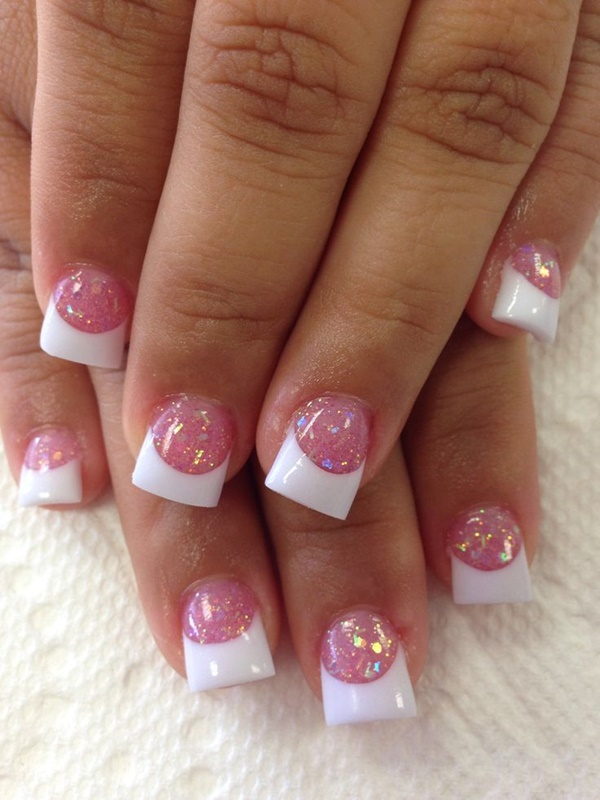Pink Nail Art Designs for Beginners8