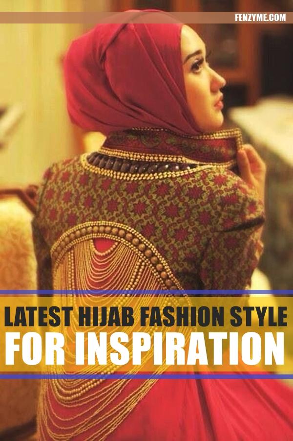 Latest Hijab Fashion Style for Inspiration1.2