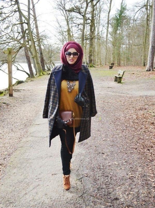 Latest Hijab Fashion Style for Inspiration18