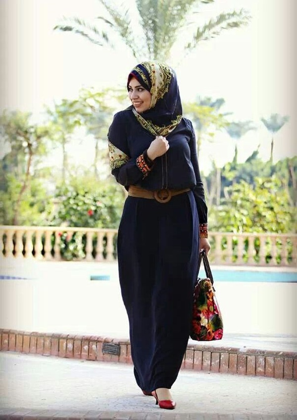 Latest Hijab Fashion Style for Inspiration19