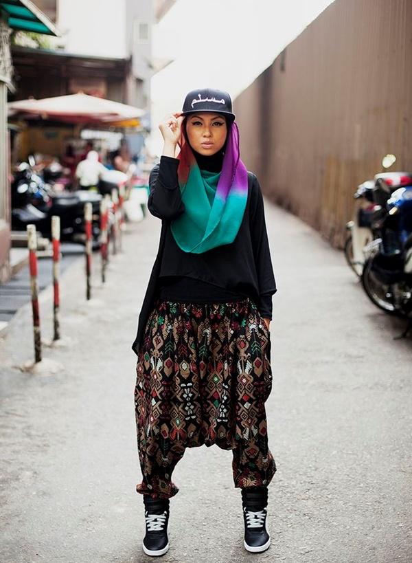 Latest Hijab Fashion Style for Inspiration22