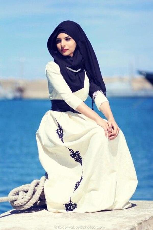 Latest Hijab Fashion Style for Inspiration25