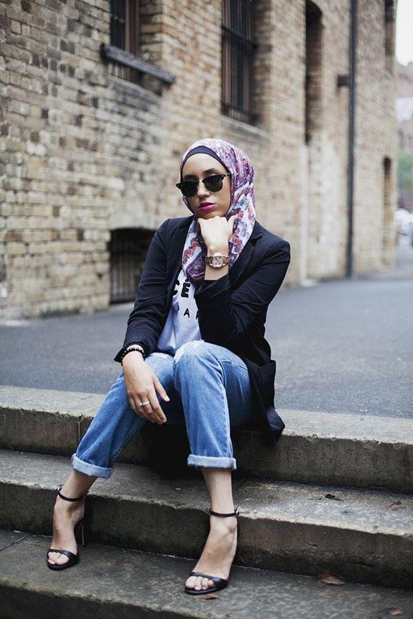 Latest Hijab Fashion Style for Inspiration27