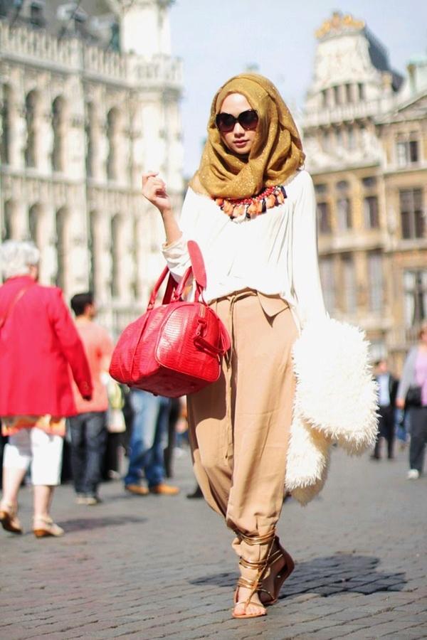 Latest Hijab Fashion Style for Inspiration32