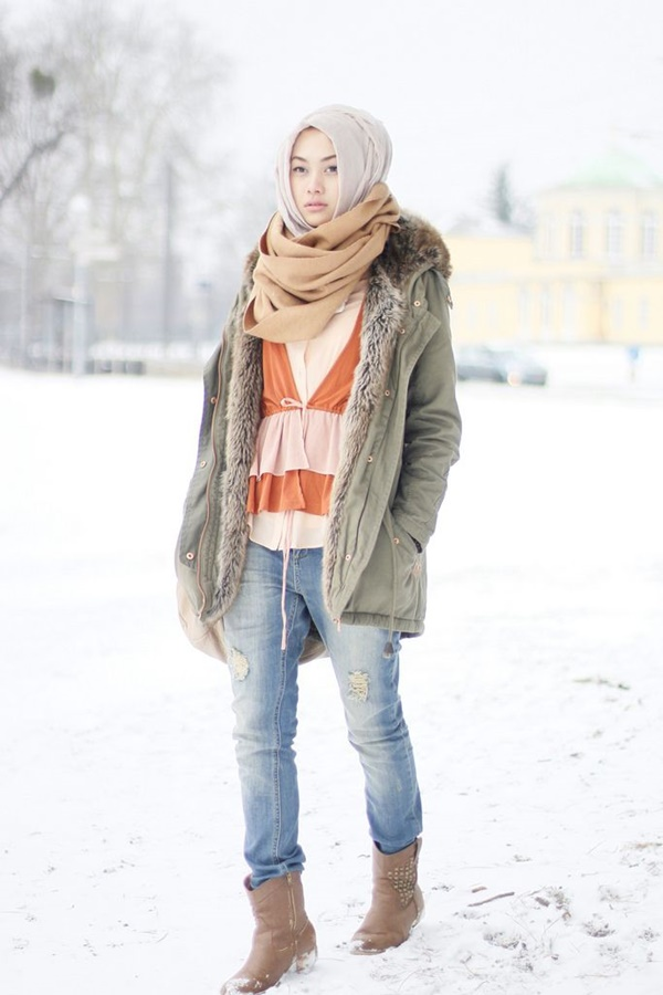 Latest Hijab Fashion Style for Inspiration35