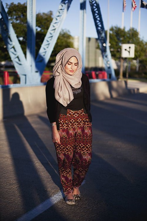 Latest Hijab Fashion Style for Inspiration39