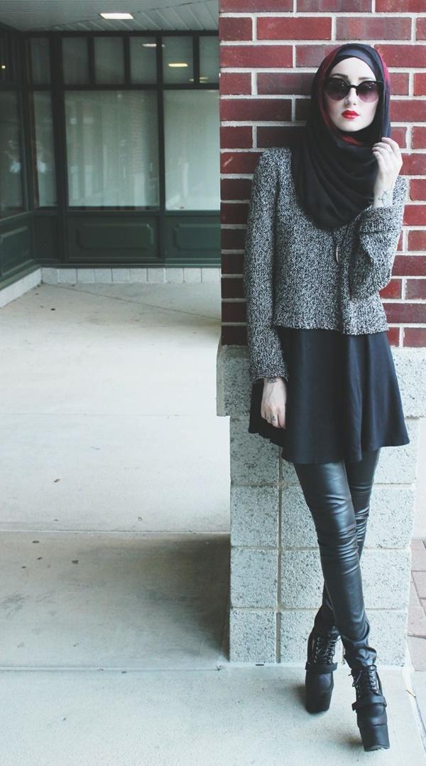 Latest Hijab Fashion Style for Inspiration9