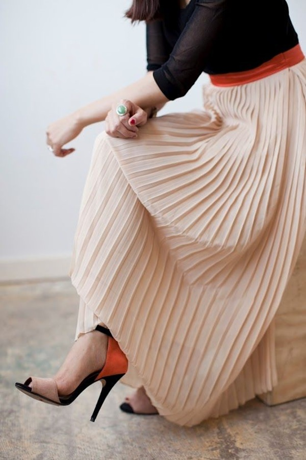 Maxi Skirt Outfits Ideas for Girls12