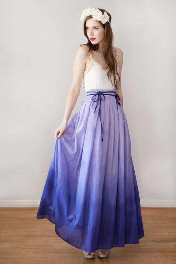 Maxi Skirt Outfits Ideas for Girls30