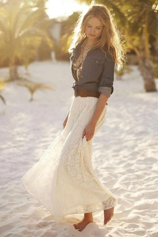 Maxi Skirt Outfits Ideas for Girls4