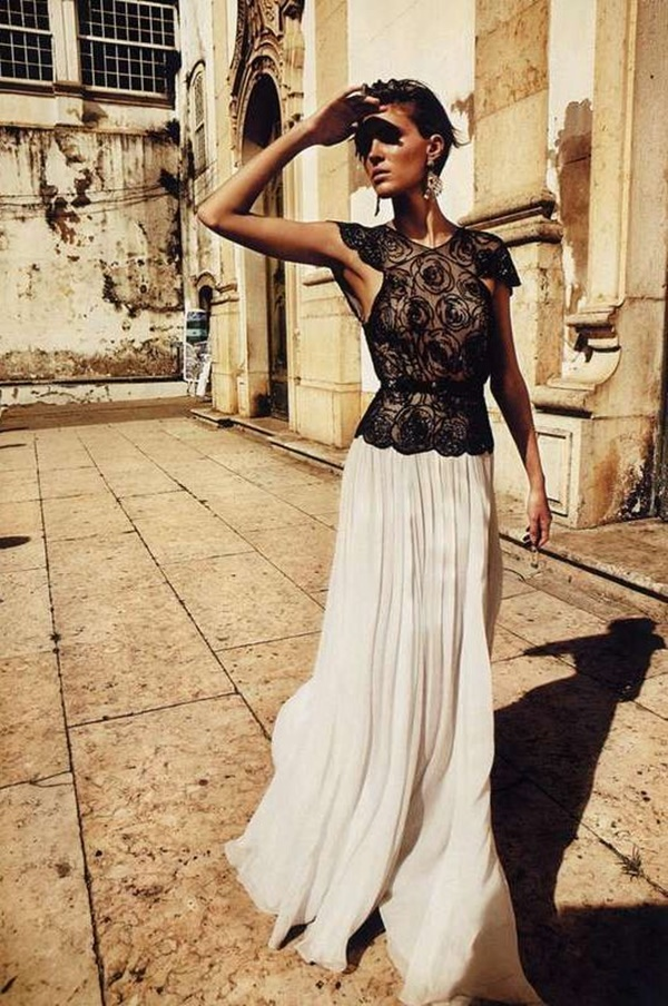 Maxi Skirt Outfits Ideas for Girls9