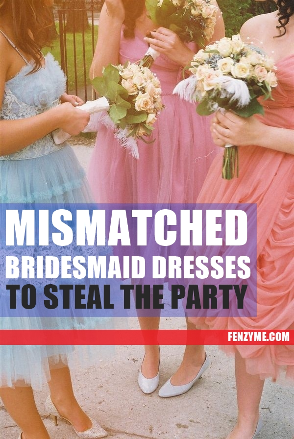 Mismatched Bridesmaid Dresses1.1