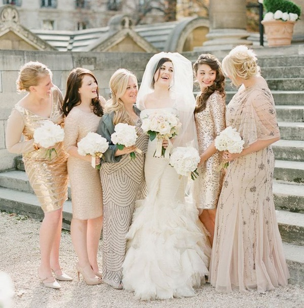 Mismatched Bridesmaid Dresses1