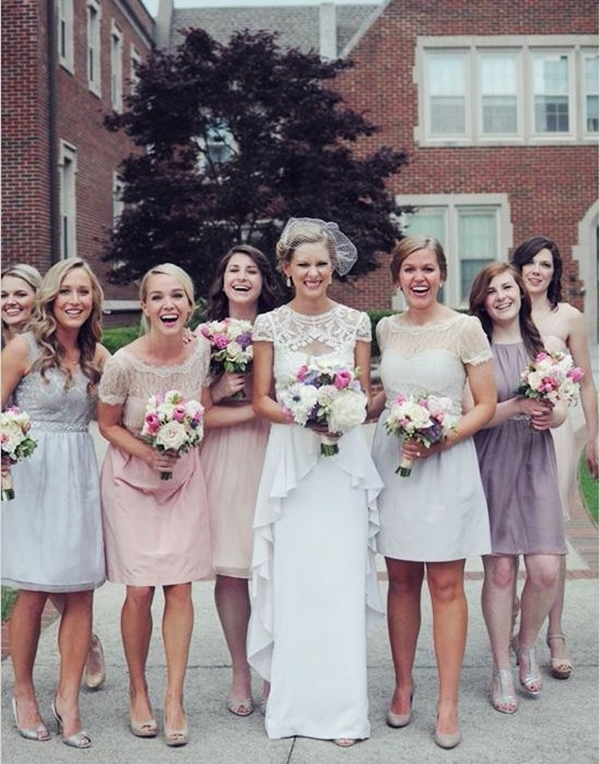Mismatched Bridesmaid Dresses10