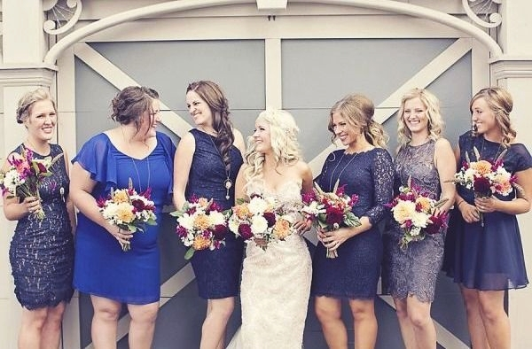 Mismatched Bridesmaid Dresses11