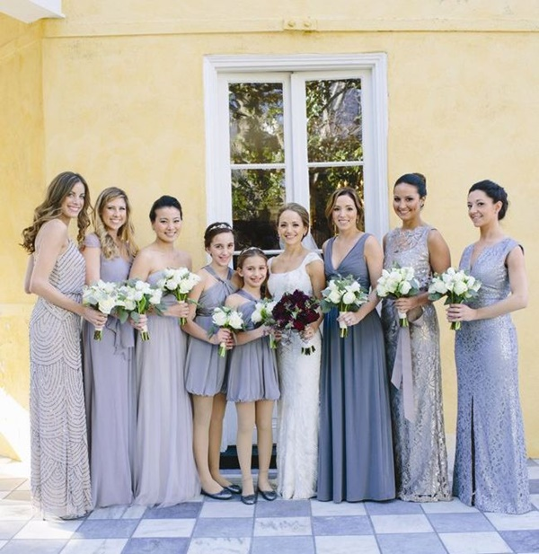 Mismatched Bridesmaid Dresses14.1