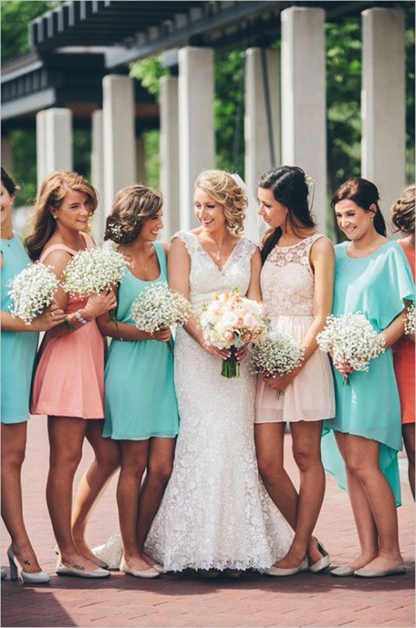Mismatched Bridesmaid Dresses15