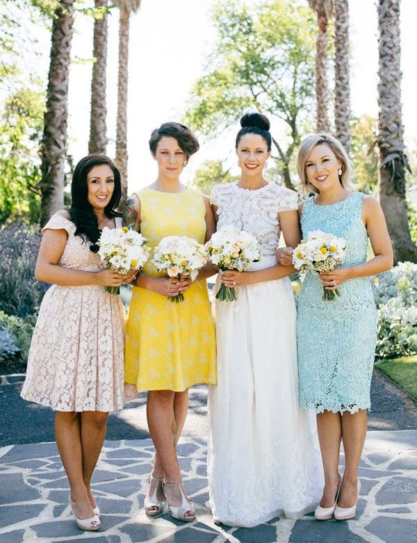 Mismatched Bridesmaid Dresses16