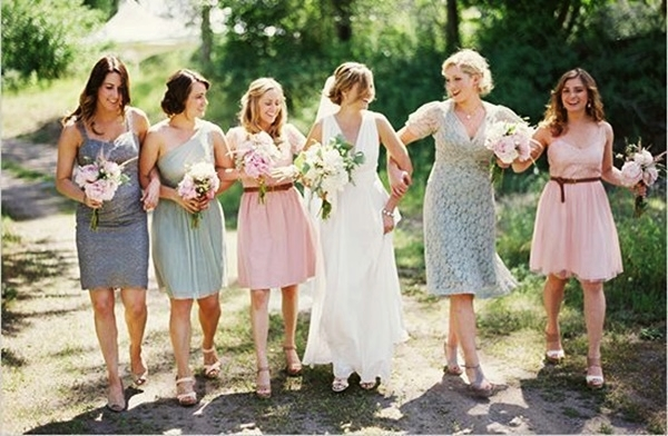 Mismatched Bridesmaid Dresses17