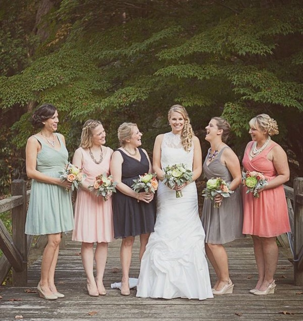 Mismatched Bridesmaid Dresses18