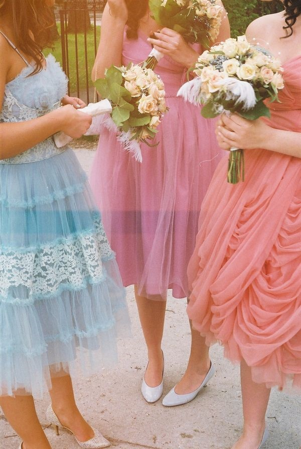 Mismatched Bridesmaid Dresses19