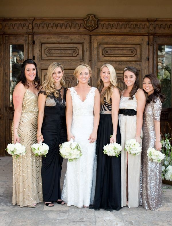 Mismatched Bridesmaid Dresses2
