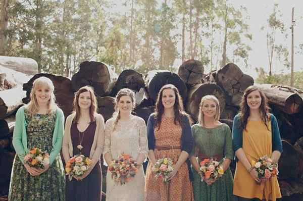 Mismatched Bridesmaid Dresses21.1
