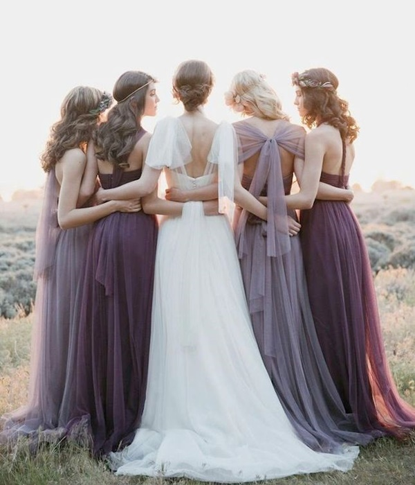 Mismatched Bridesmaid Dresses21