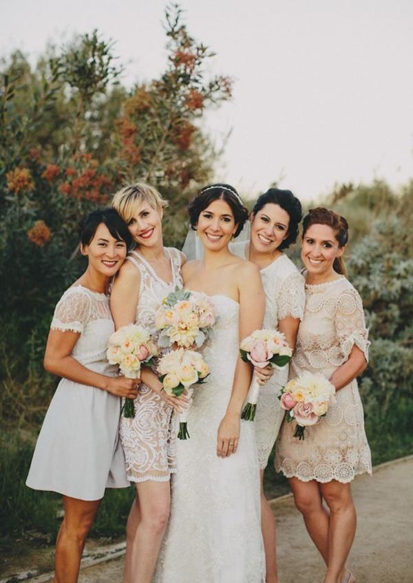 Mismatched Bridesmaid Dresses22.1