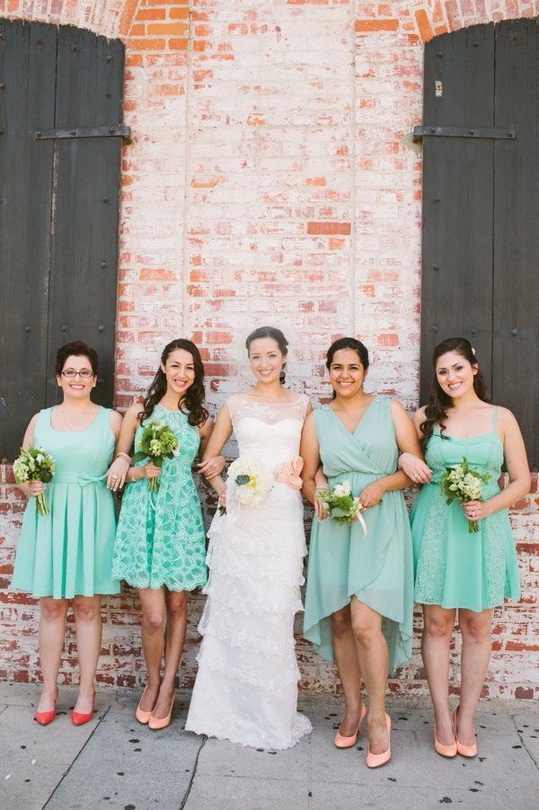 Mismatched Bridesmaid Dresses22