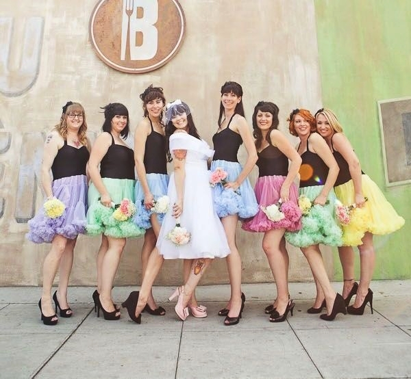 Mismatched Bridesmaid Dresses23