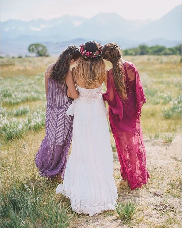 Mismatched Bridesmaid Dresses25