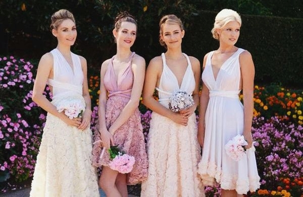 Mismatched Bridesmaid Dresses28
