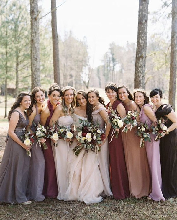 Mismatched Bridesmaid Dresses30