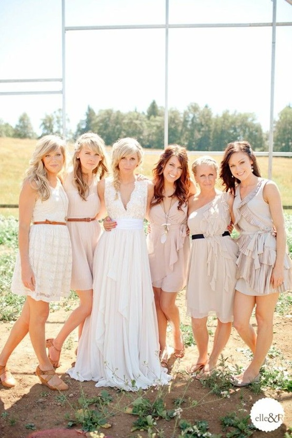 Mismatched Bridesmaid Dresses35