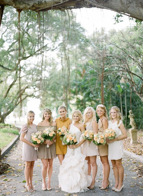 Mismatched Bridesmaid Dresses37