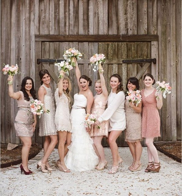 Mismatched Bridesmaid Dresses40