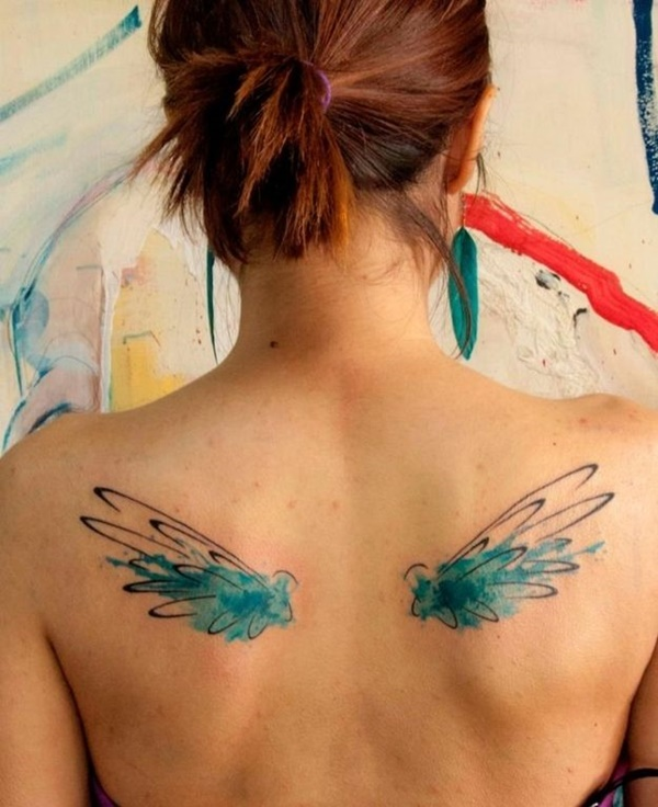Watercolor Tattoo Designs and Ideas5