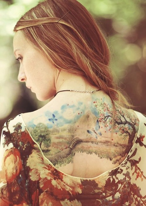 Watercolor Tattoo Designs and Ideas9