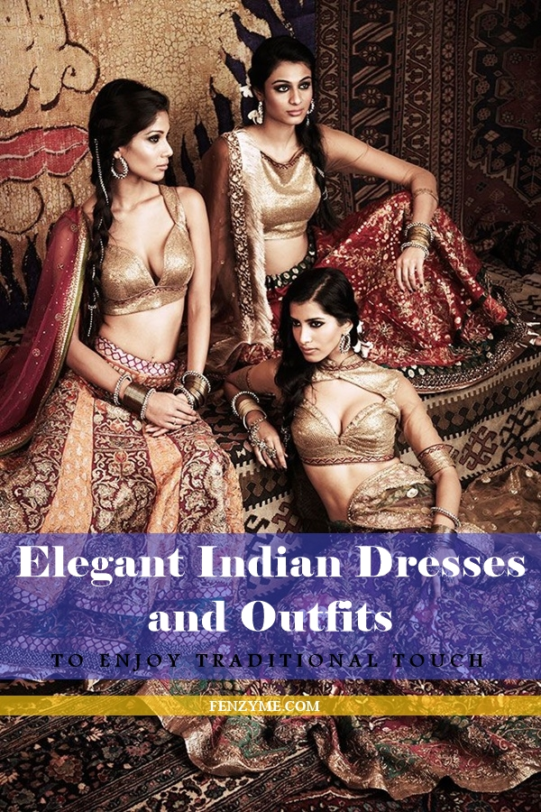 Elegant Indian Dresses and Outfits1.1