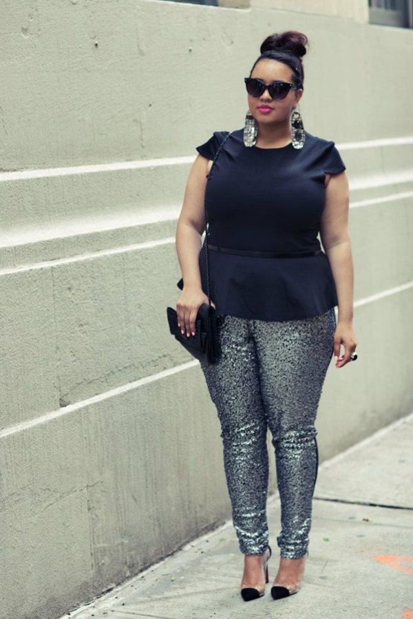 Sexy Curvy Girl Fashion Outfits and Ideas34