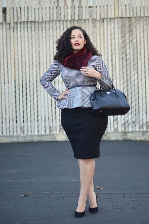60 Sexy Curvy Girl Fashion Outfits and Ideas