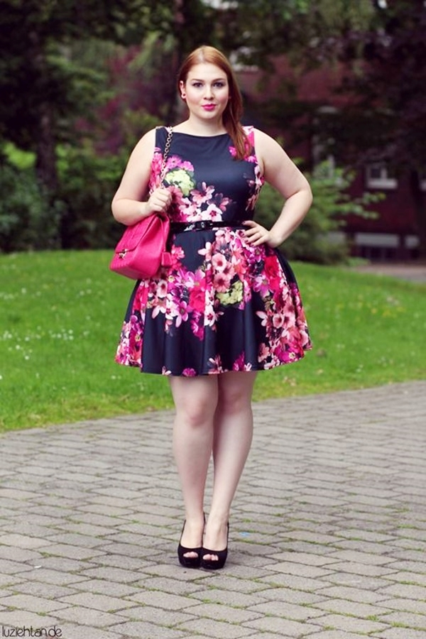 Cute Floral Print Summer Attires2.5